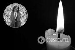 У Києві від ускладнень COVID-19 померла Оксана Животкова