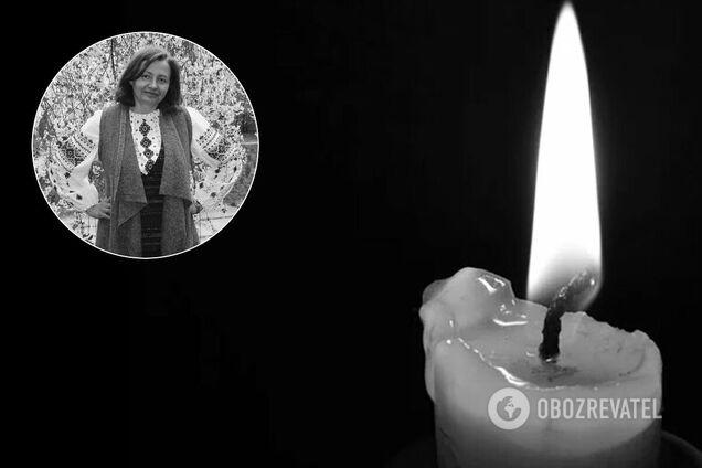 В Киеве от осложнений COVID-19 умерла Оксана Животкова