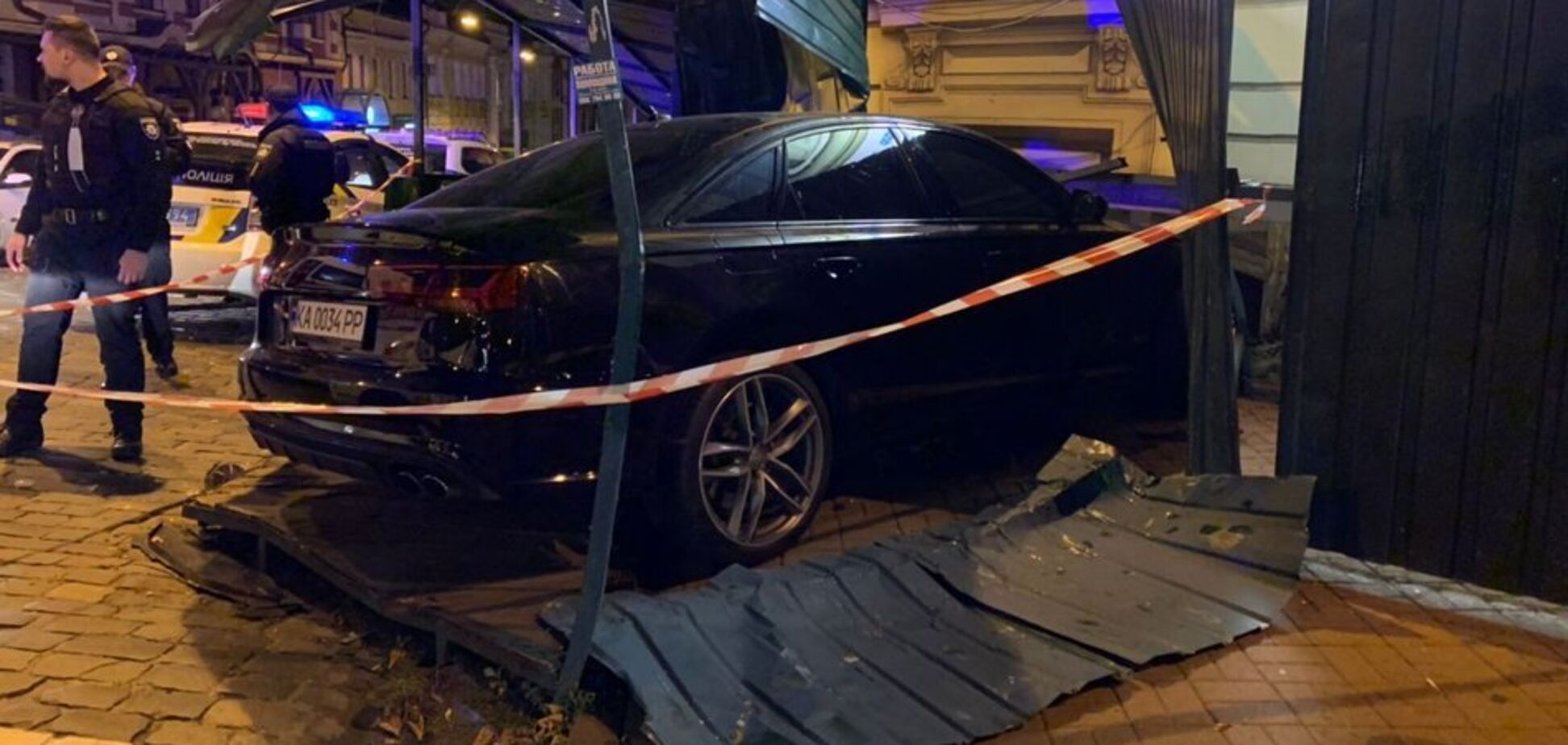 У центрі Києва сталаося ДТП з Audi