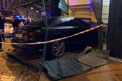 В центре Киева произошло ДТП с Audi