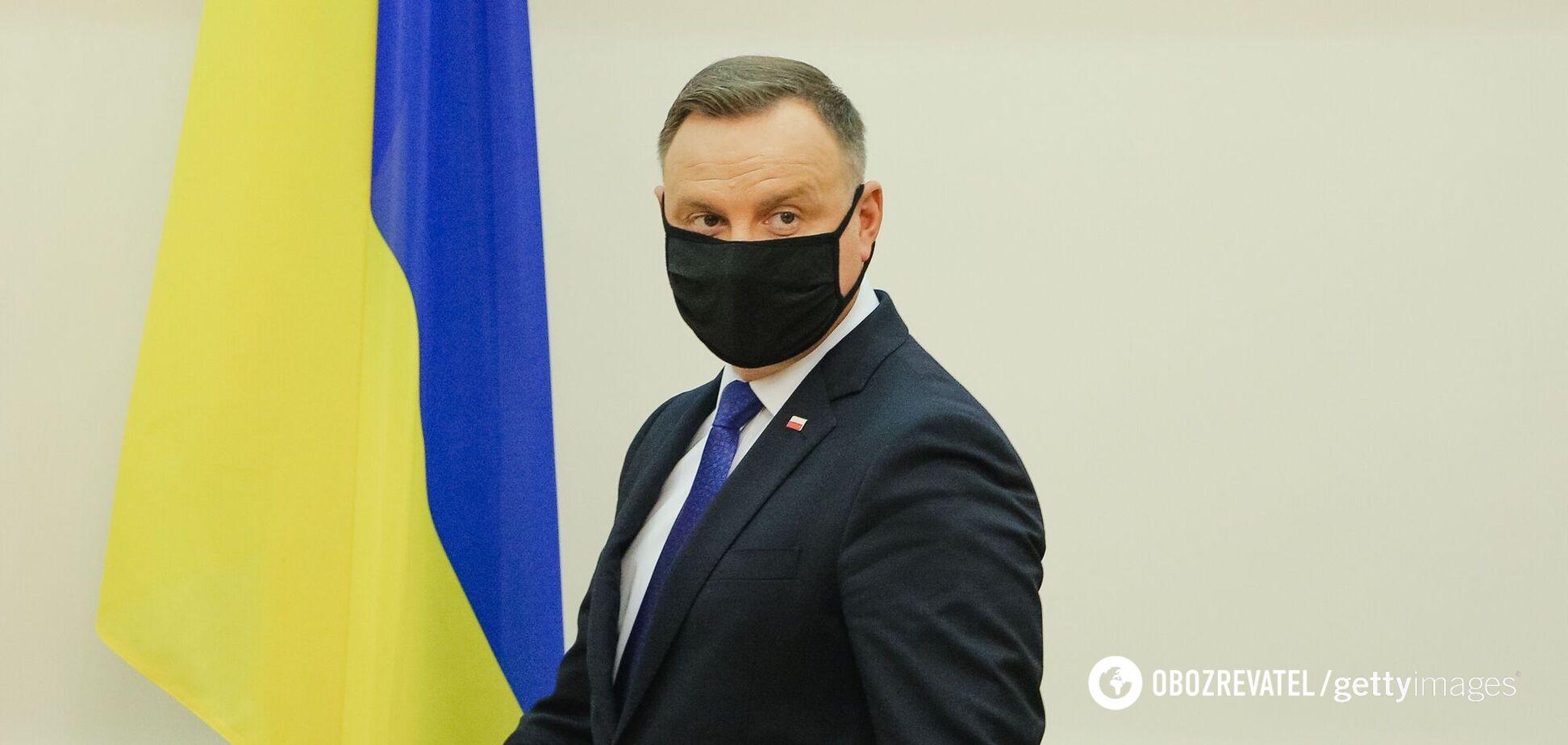 Президент Польши посетил Киев и Одессу