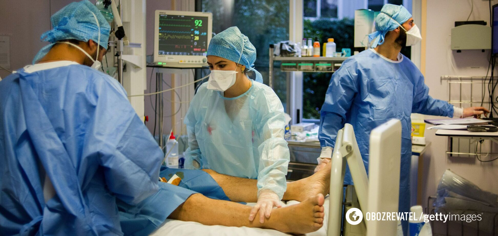 За сутки госпитализировали более 1 тысячи больных