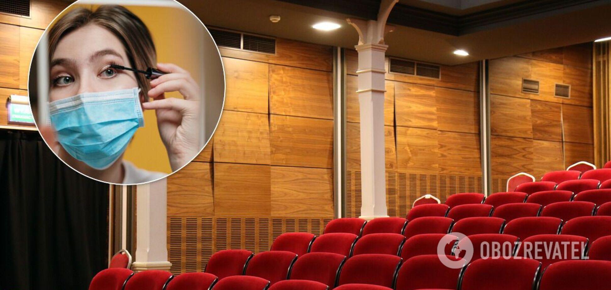 Роботу кінотеатрів в карантин дозволили