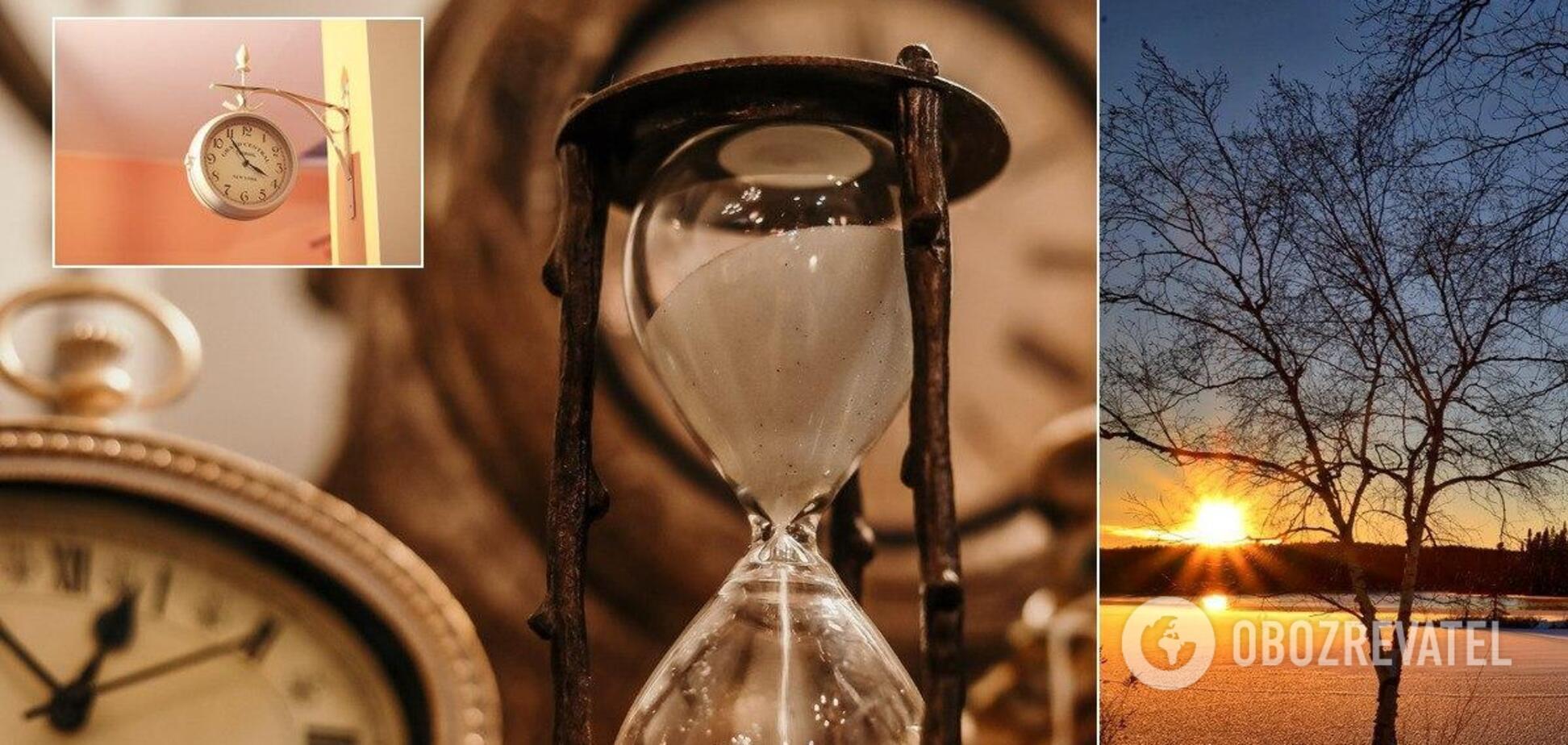 Переведення годинника на зимовий час