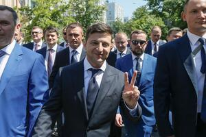 Опрос Зеленского: 'слуги' снова провоцируют скандалы