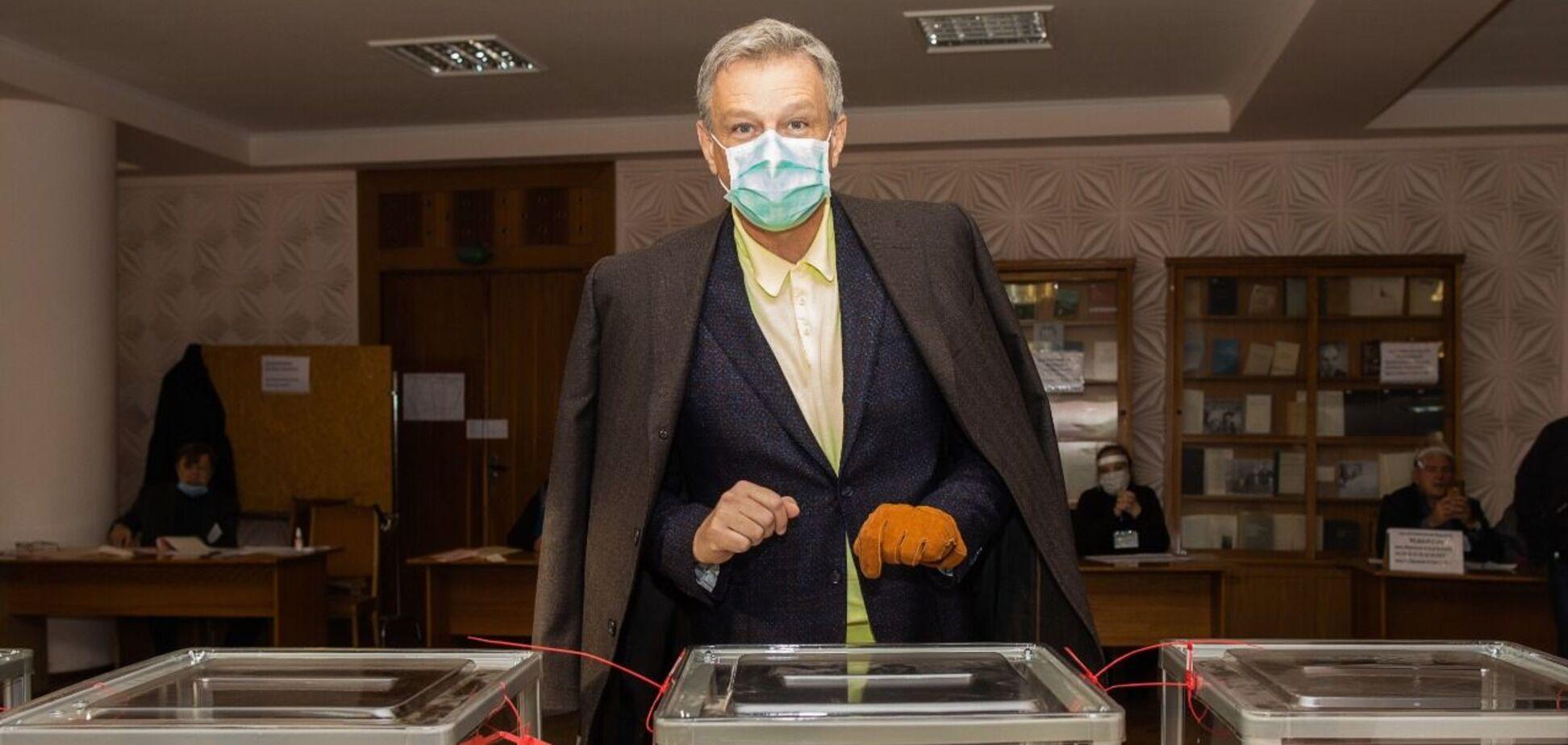 Андрій Пальчевський проголосував на виборах мера Києва