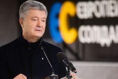 Порошенко обратился к избирателям с благодарностью