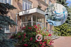 В Харькове из окна больницы выпал пациент с COVID-19