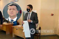 Разумков не принял участия в опросе Зеленского
