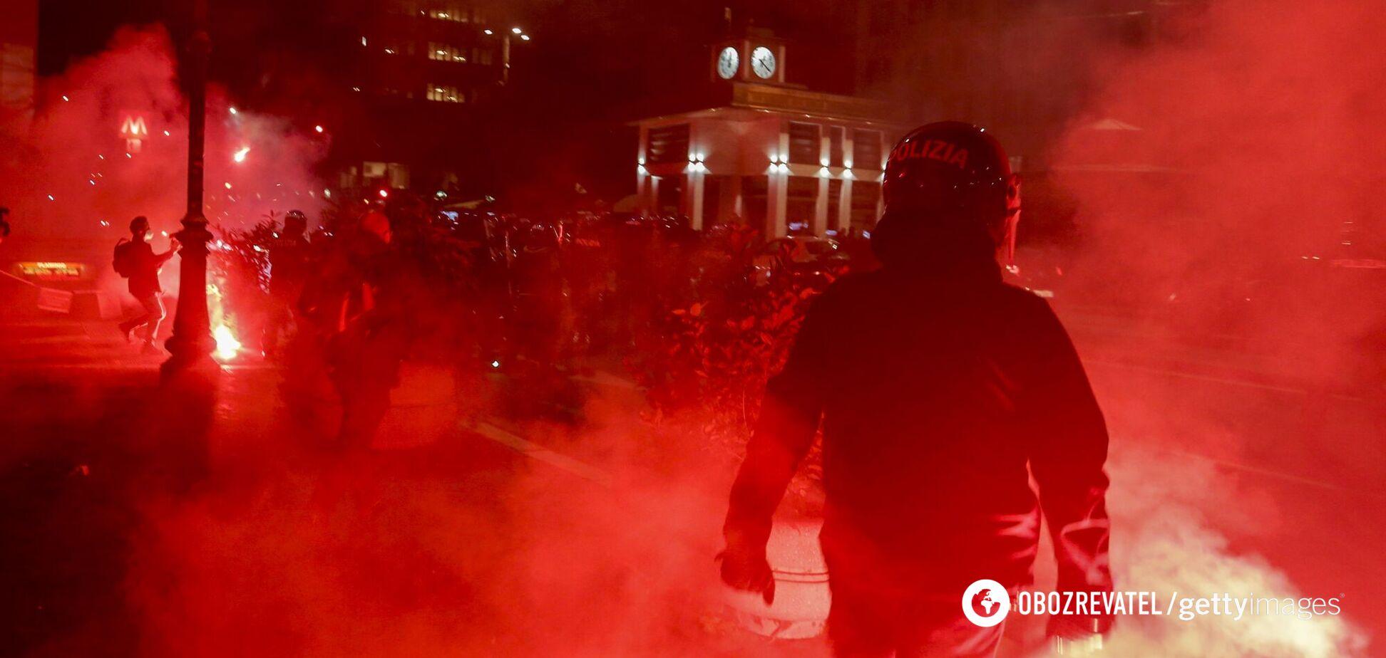 В Італії – рекорд за кількістю хворих на COVID-19: країну охопили протести проти карантину. Фото і відео