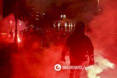 В Италии – рекорд по числу больных COVID-19: страну охватили протесты против карантина. Фото и видео
