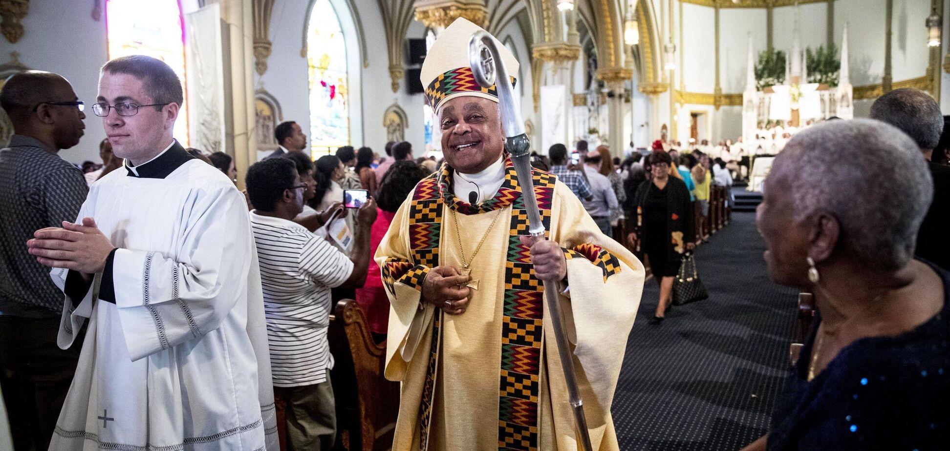 Кардиналом в США впервые стал афроамериканец