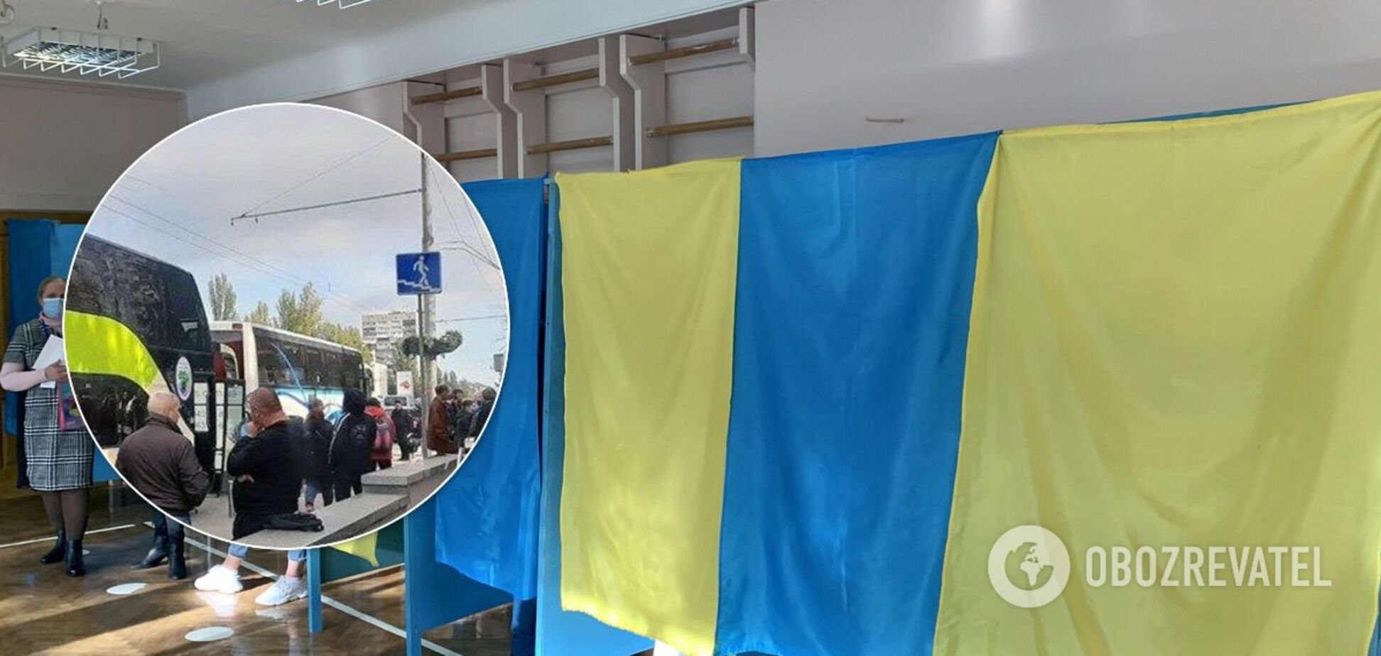 У Київ на голосування звозили мешканців Житомирщини