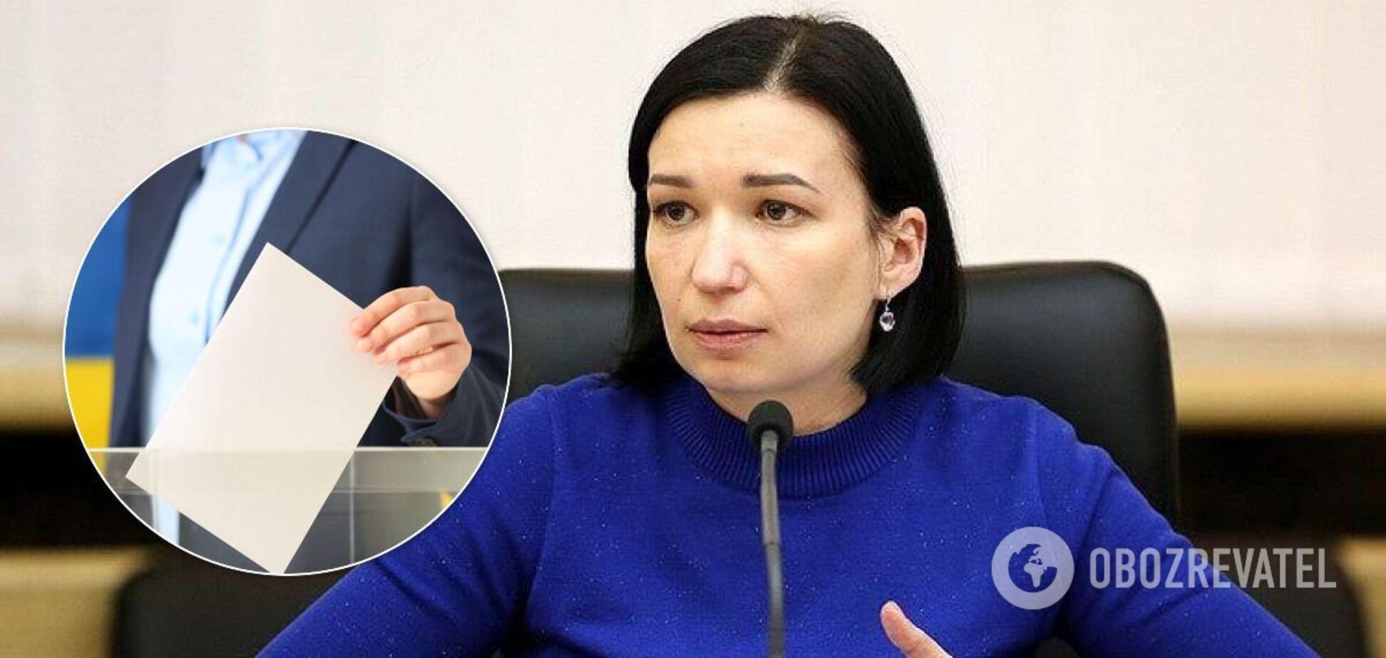 Айвазовская назвала ошибку местных выборов