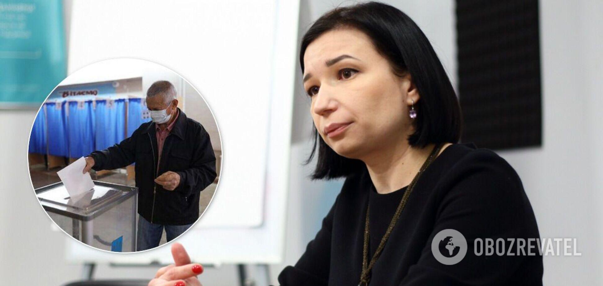 Местные выборы 2020 в Украине