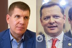 Анатолий Гунько и Олег ляшко идут нога в ногу на 208 округе
