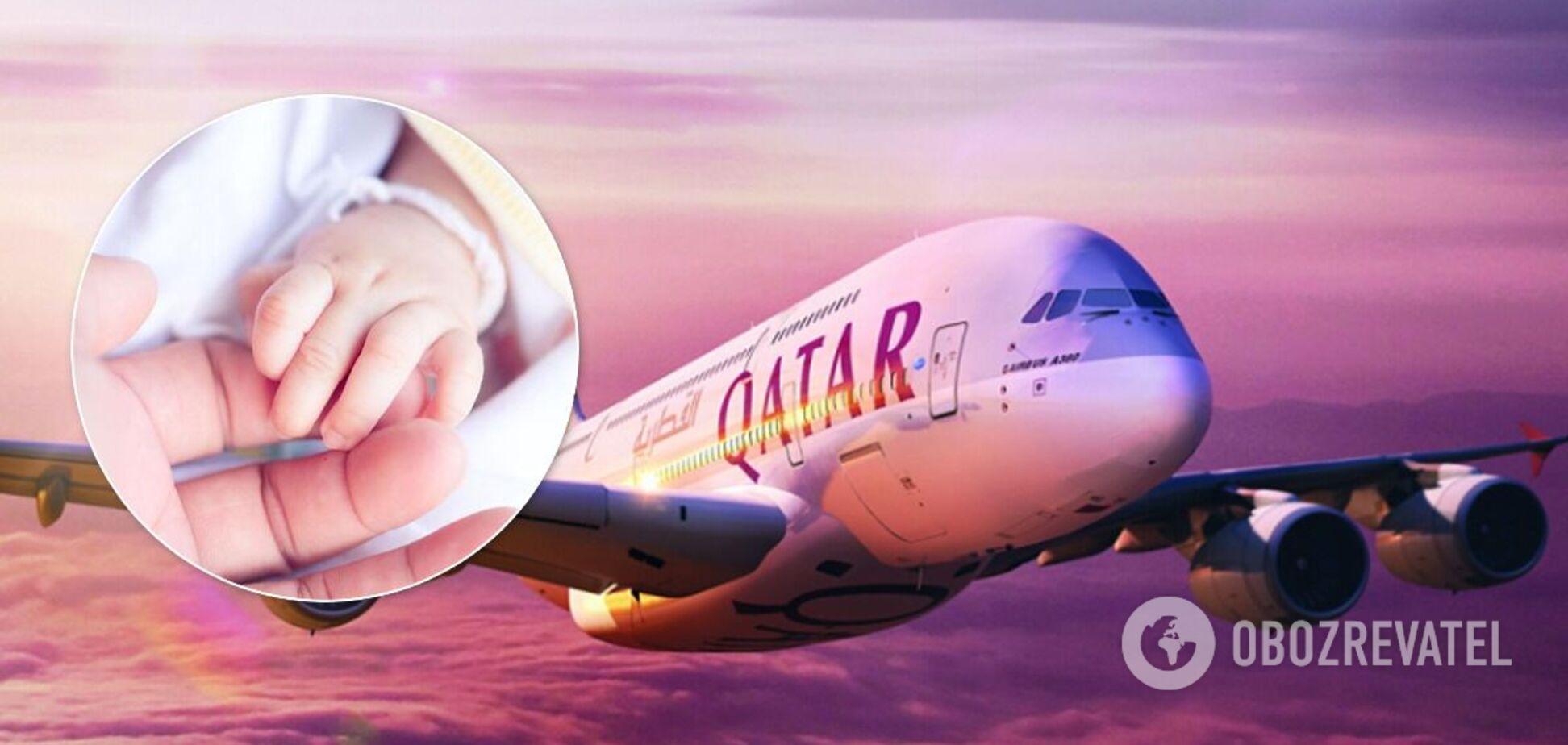На борту літака знайшли мертве немовля