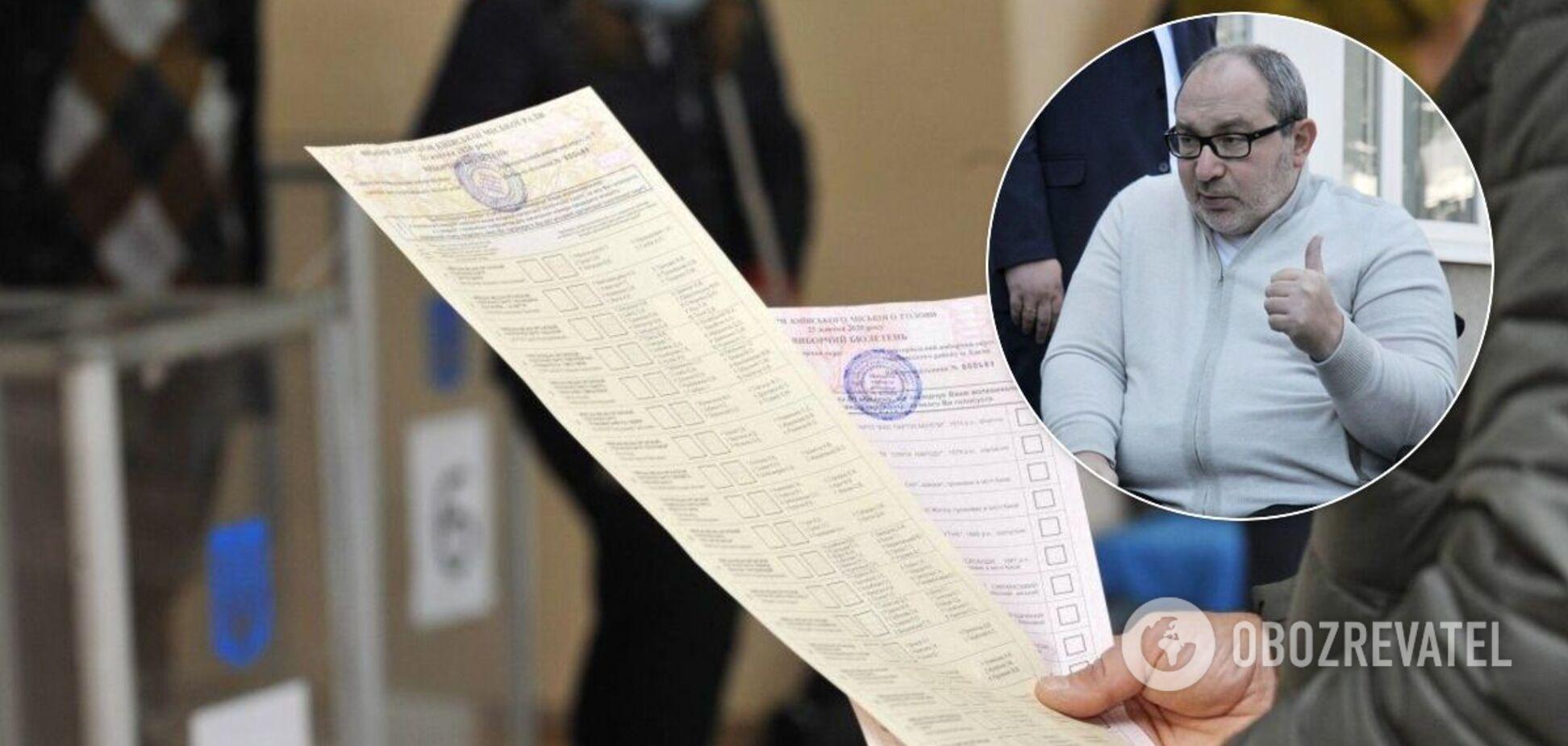 Выборы в Харькове 2020