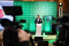 Корниенко заявил, что 'Слуга народа' занимает первое место на местных выборах в областных и районных советов