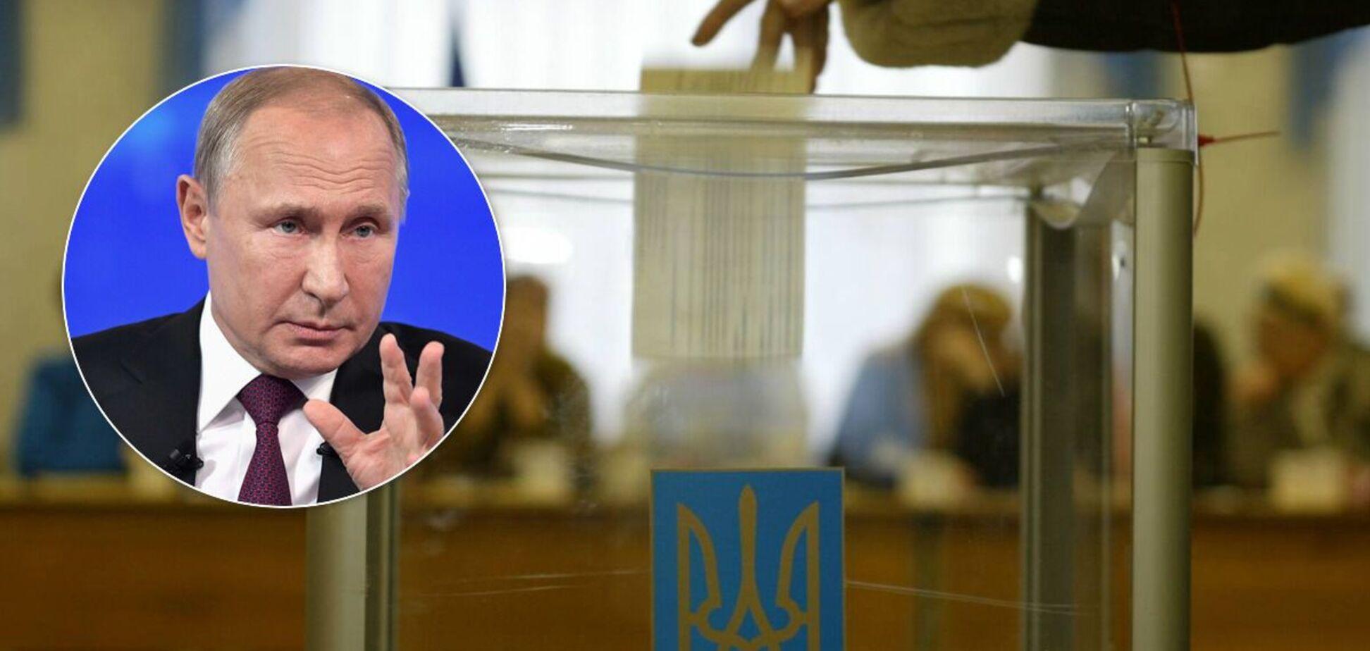 У Чернігові виборець проголосував за Путіна