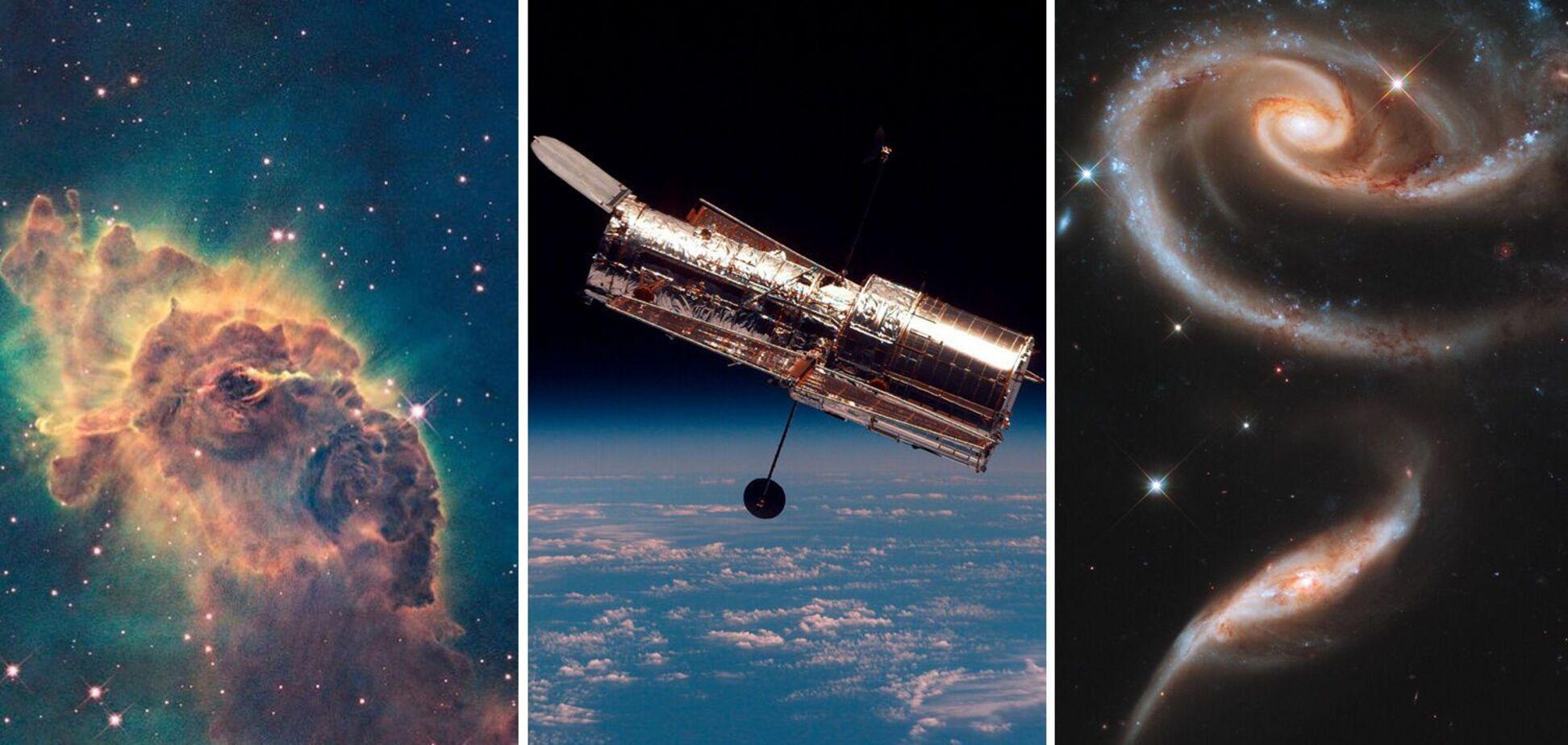 Знімок зроблено за допомогою телескопа Hubble
