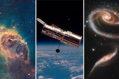 Снимок сделан с помощью телескопа Hubble