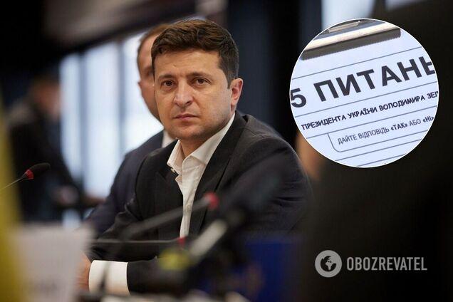 Владимир Зеленский решил провести опрос среди украинцев во время выборов