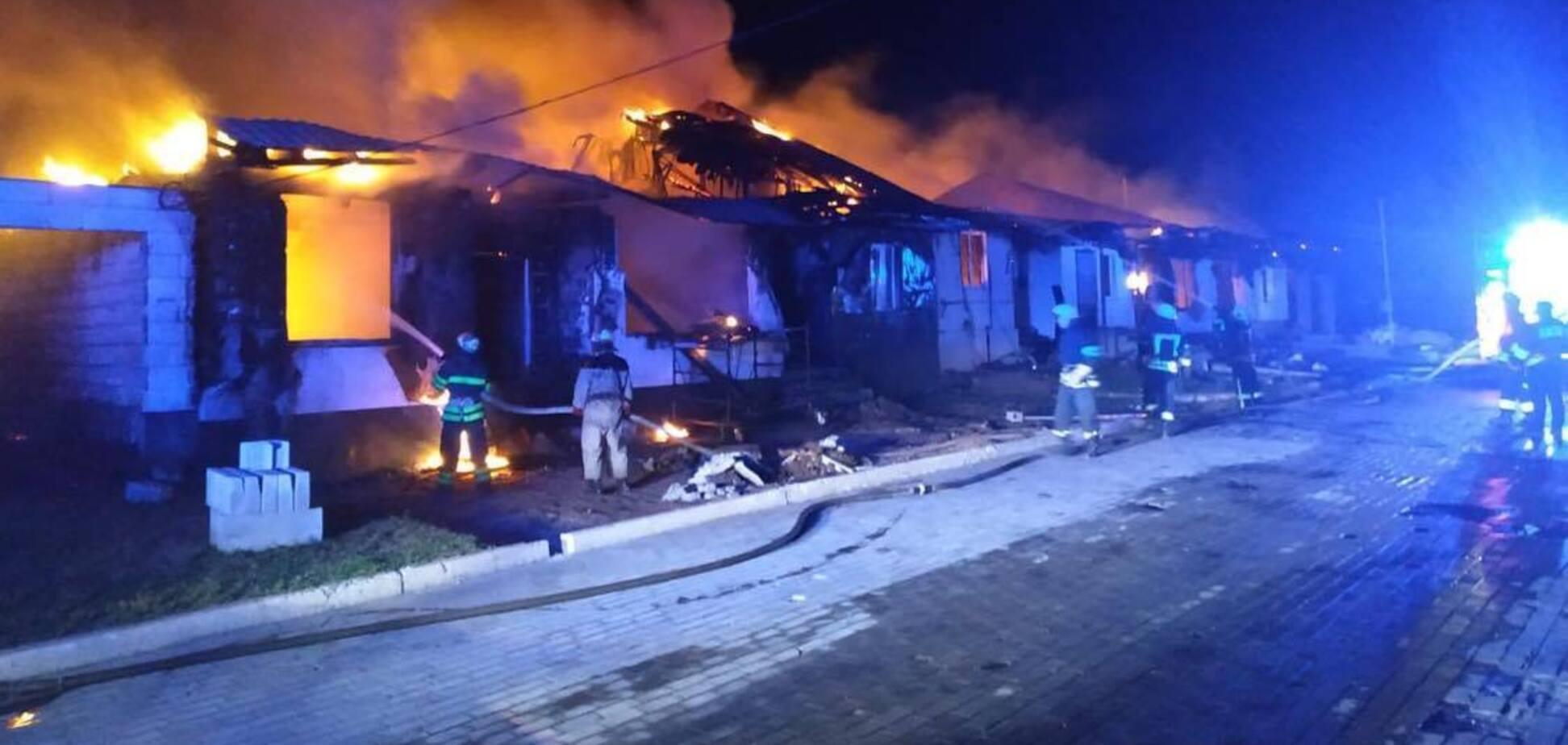 Под Днепром сгорел дом семьи заммэра Каменского. Фото и видео