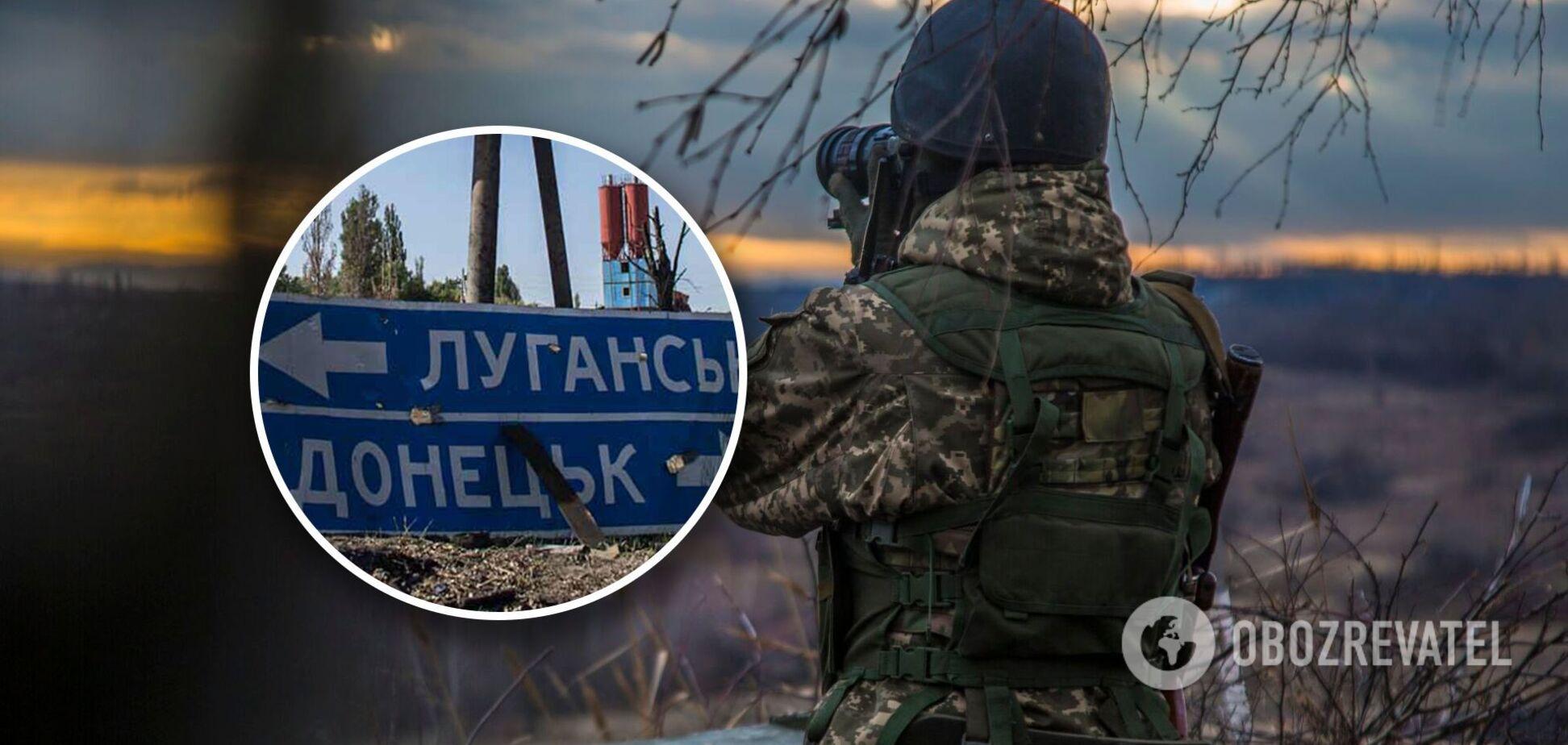 Террористы на Донбассе сорвали перемирие