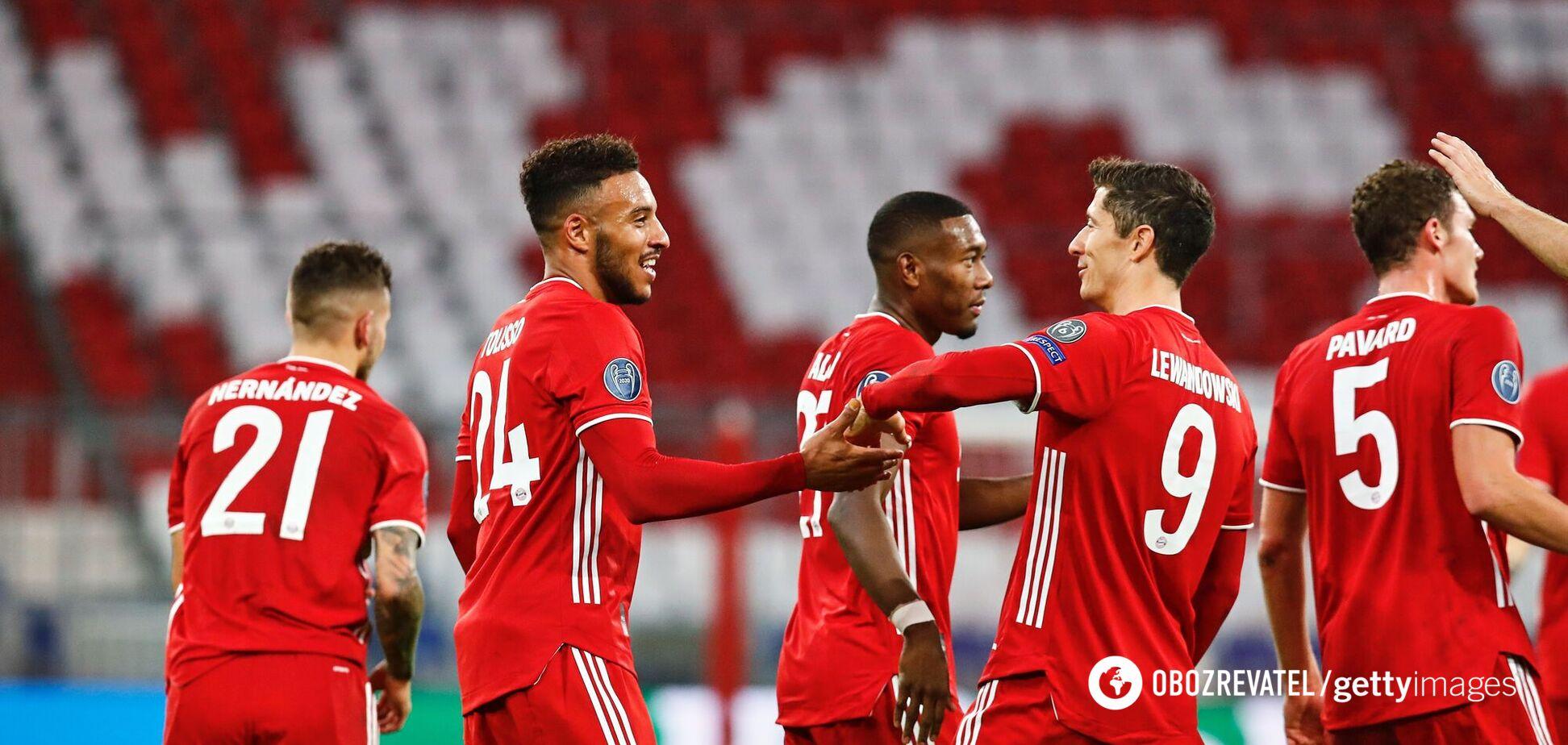 Гравці 'Баварії' святкують гол