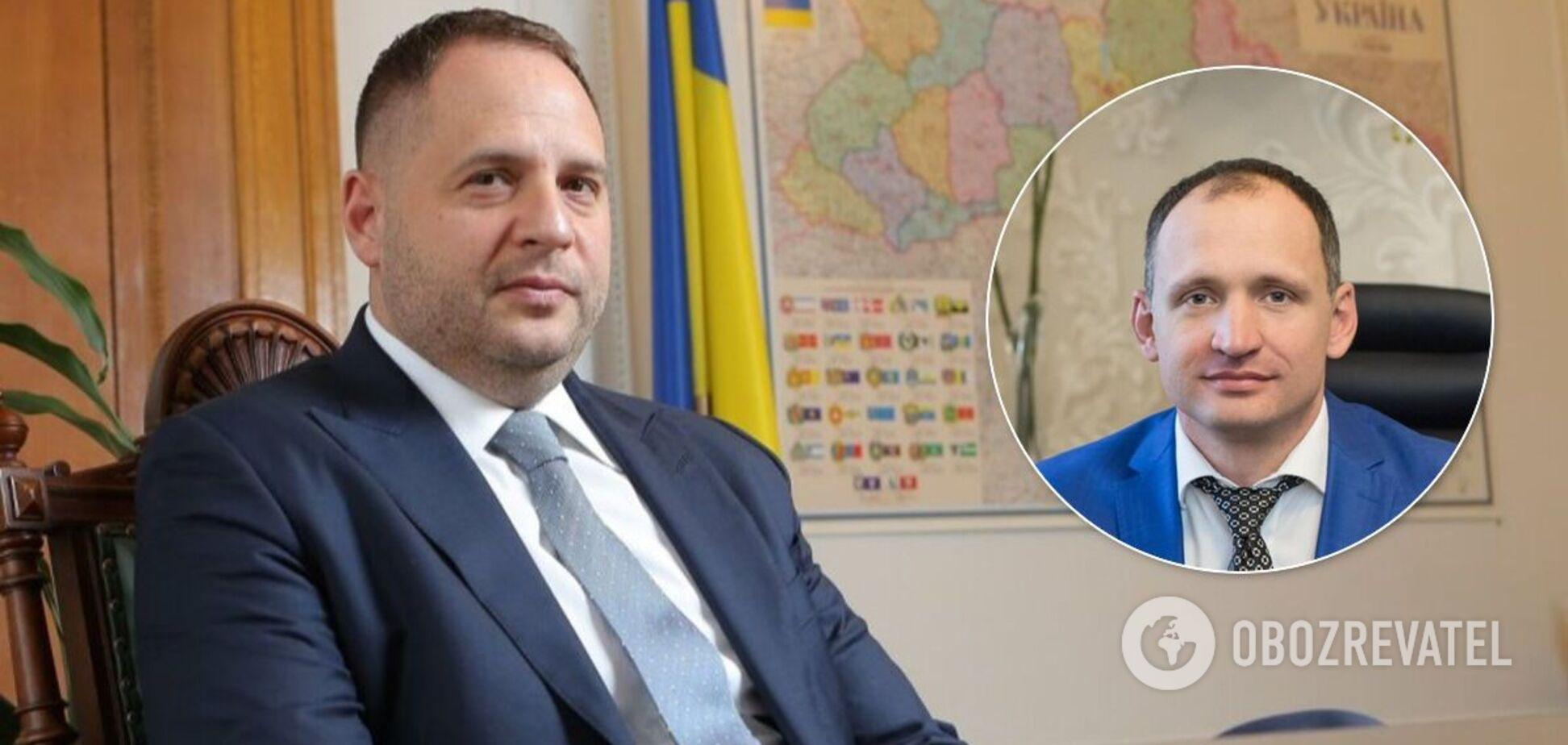 Єрмак підтримав кандидатуру Татарова