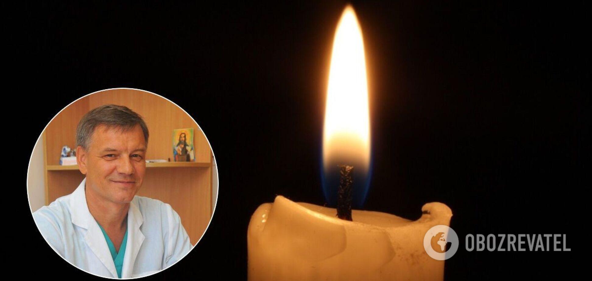 В Одессе трагически умер врач, который спасал воинов АТО