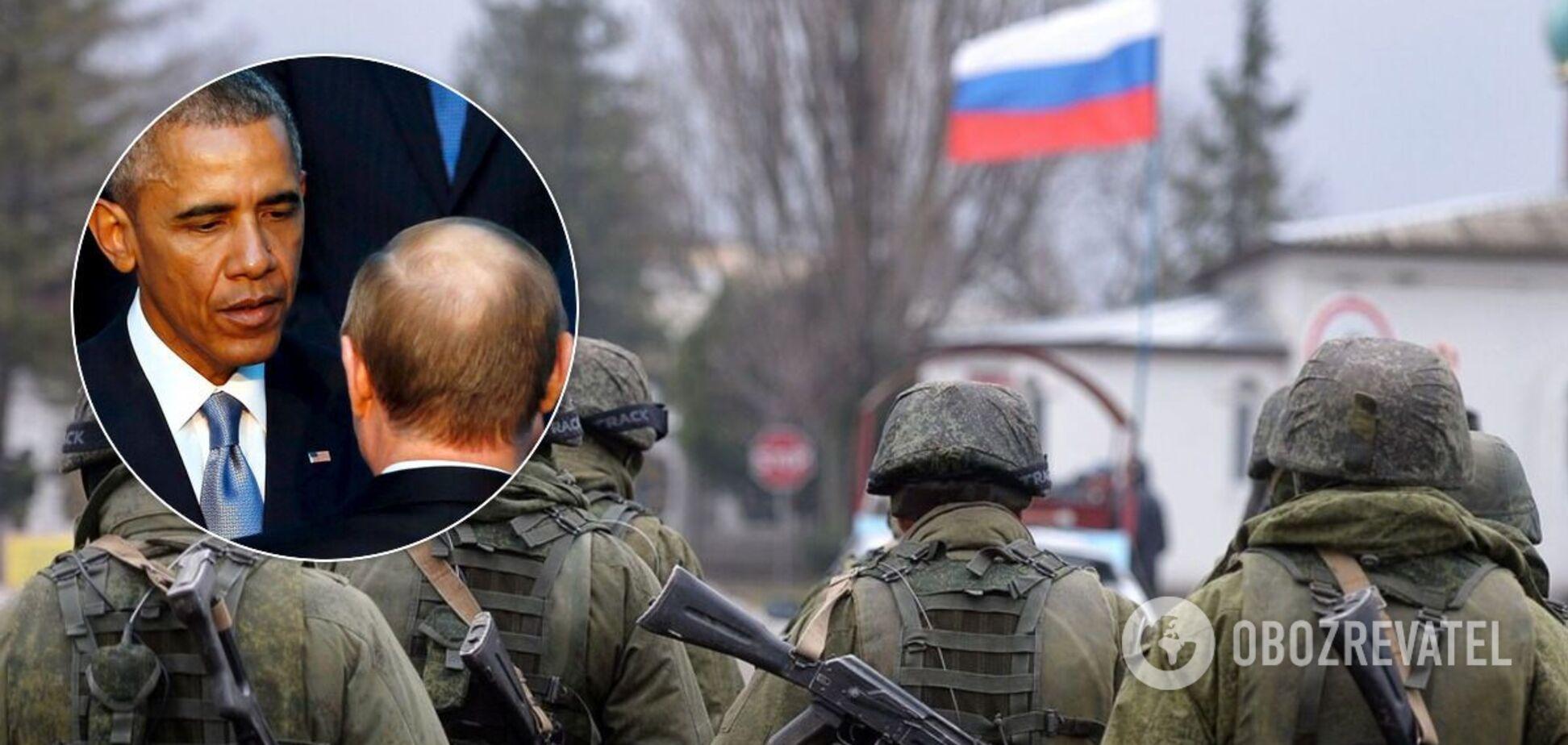 Офіцер НАТО: Обама дав Путіну зелене світло на захоплення Криму