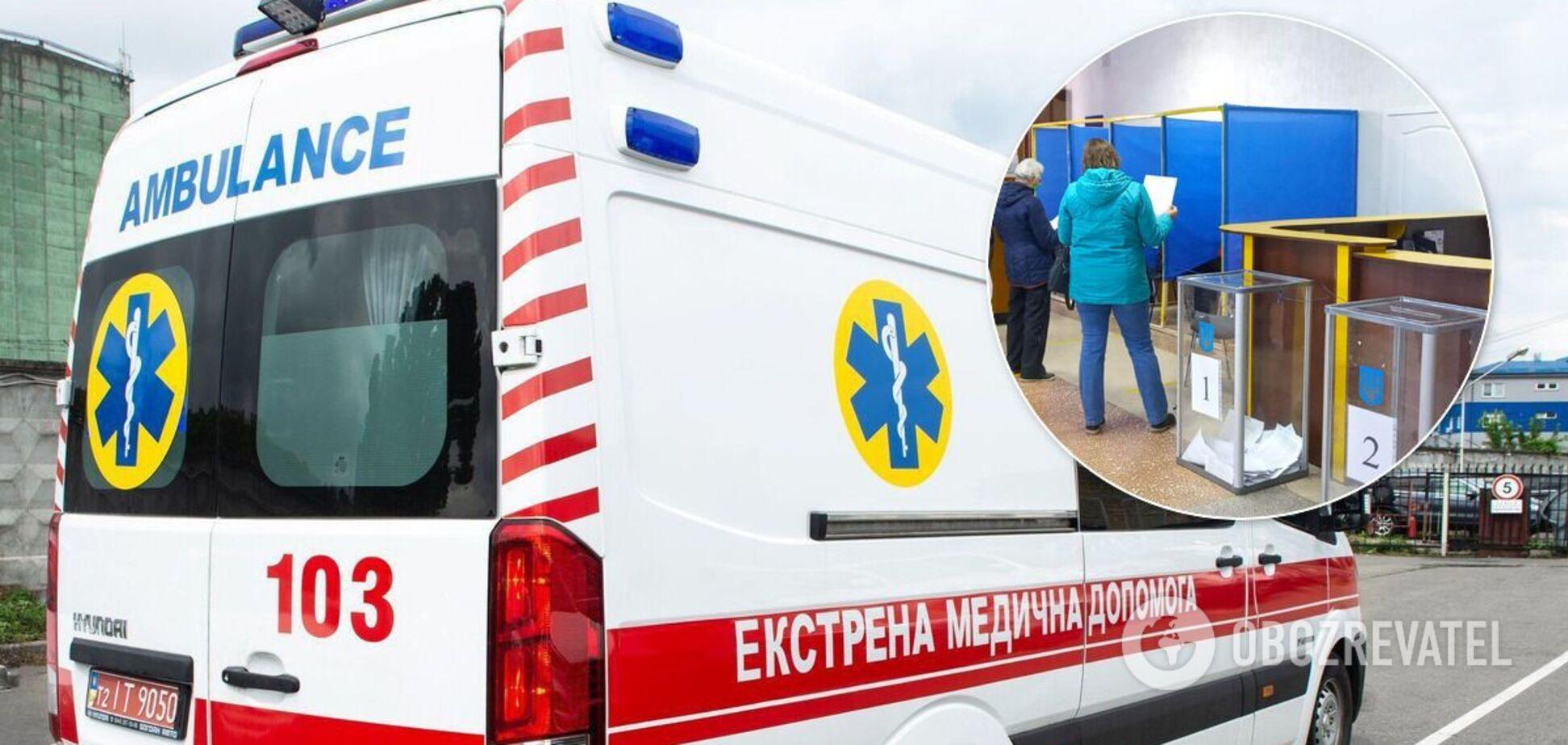 На выборах в Украине один человек умер