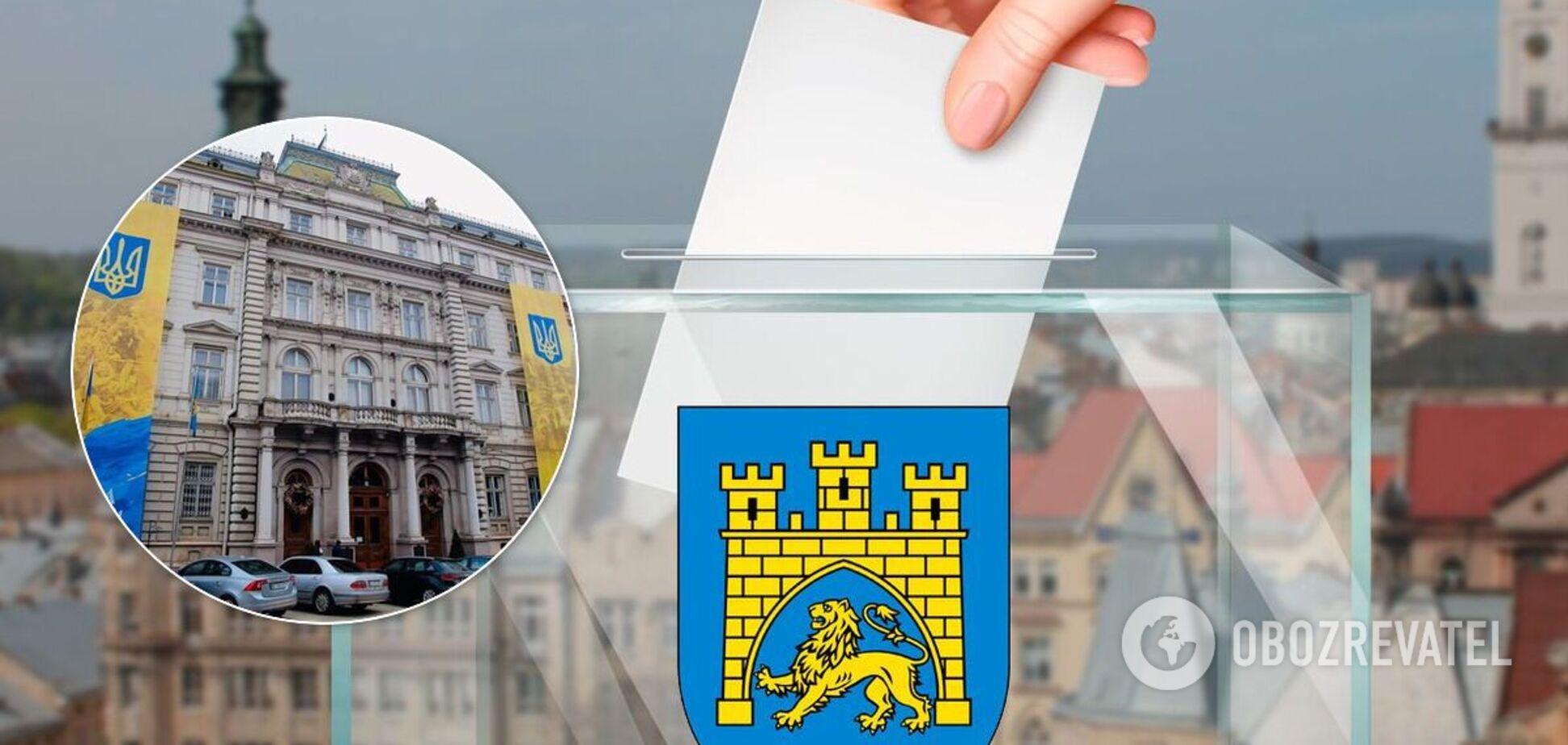 Выборы во Львовской области 2020