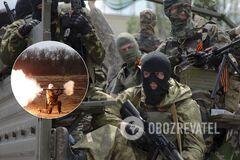 'Л/ДНР' обстреляли позиции ВСУ из гранатомета