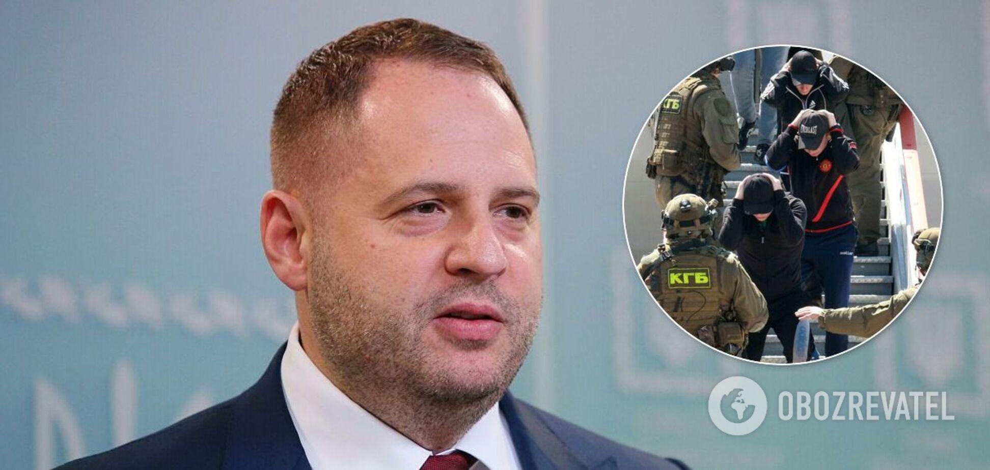 Главу ОПУ Андрія Єрмака підозрюють у зриві операції з вагнерівцями