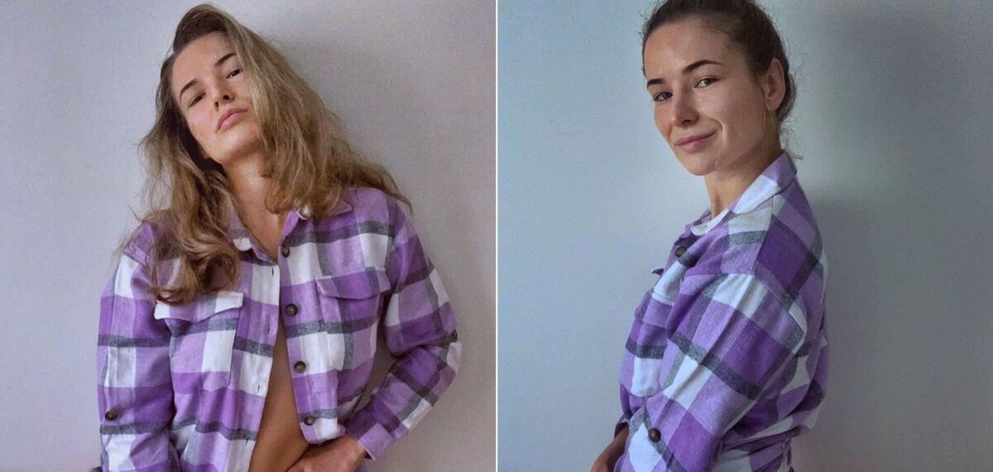 Украинская рекордсменка UFC снялась в бикини, поразив Instagram своей грудью