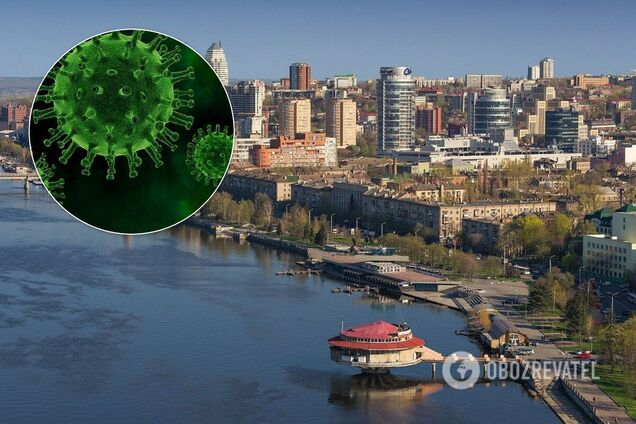 В Днепре и области зафиксировали почти 1 800 больных COVID-19 за сутки