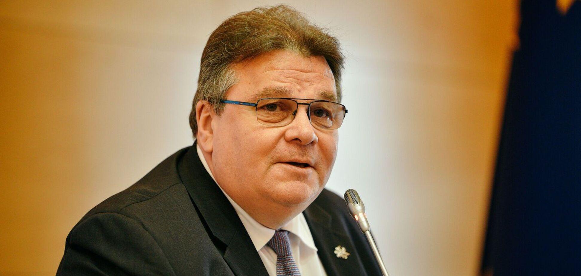 Лінкявічюс висловив стурбованість переслідуванням Порошенка в Україні