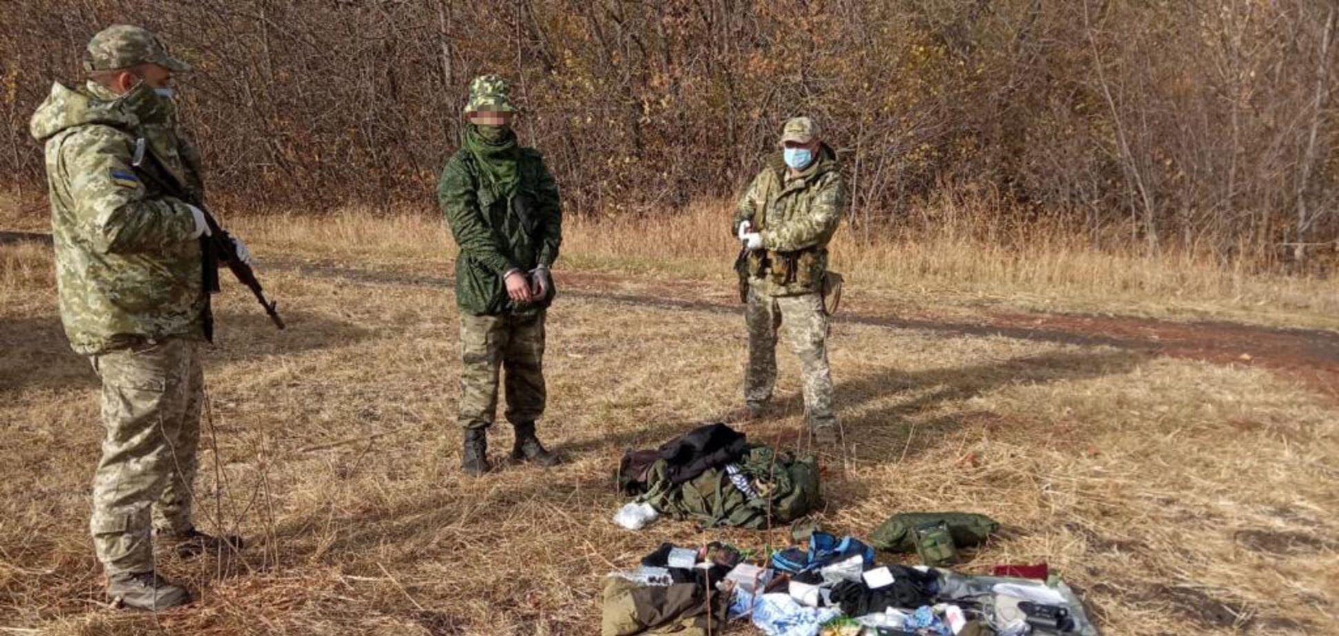 На Луганщине задержали россиянина-нарушителя