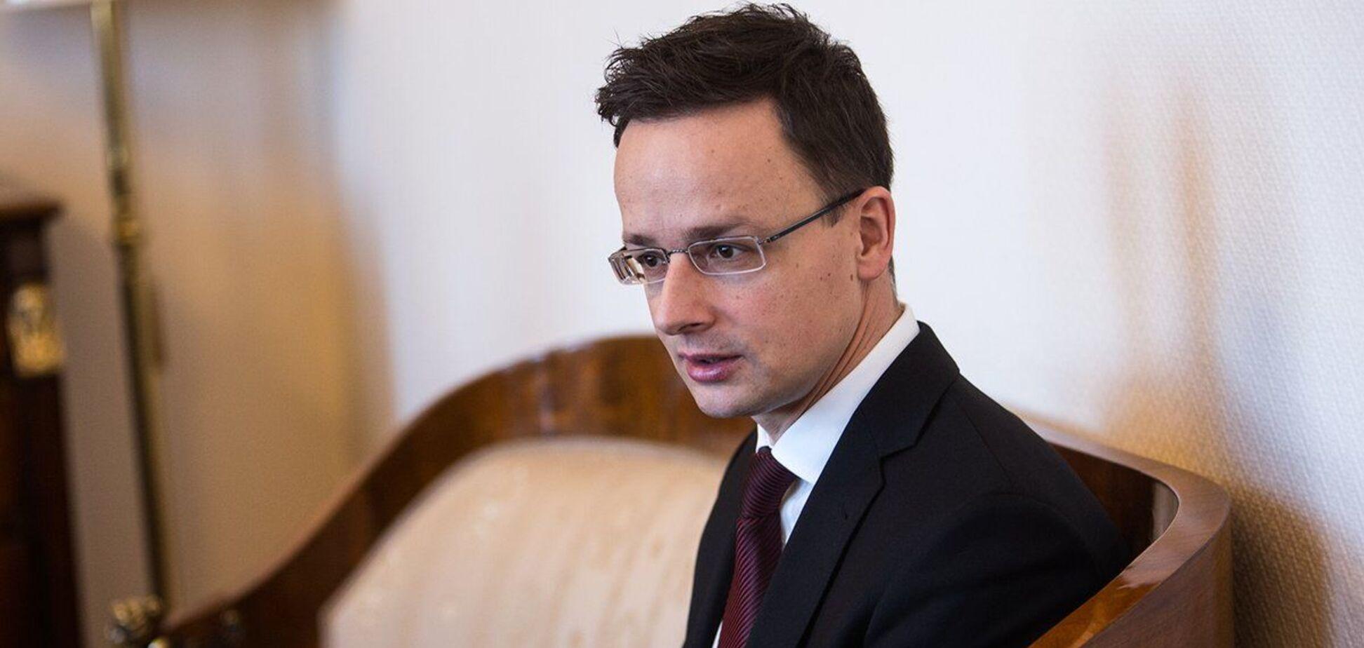 Петер Сіярто висунув Україні претензії через вислання угорських урядовців