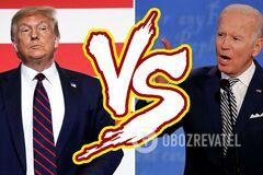 Трамп чи Байден: хто переможе на виборах у США й чим це обернеться для України