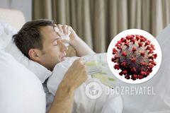Больной коронавирусом
