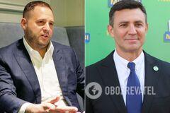 Тищенко в штабе 'Слуги' хвастался, что он 'от Ермака': глава ОП прояснил ситуацию
