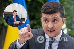 Глава ОАСК Павел Вовк и президент Владимир Зеленский