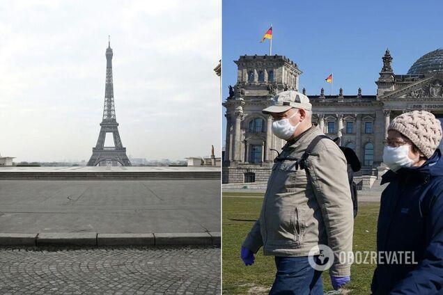 Германия и Франция ввели жесткий карантин
