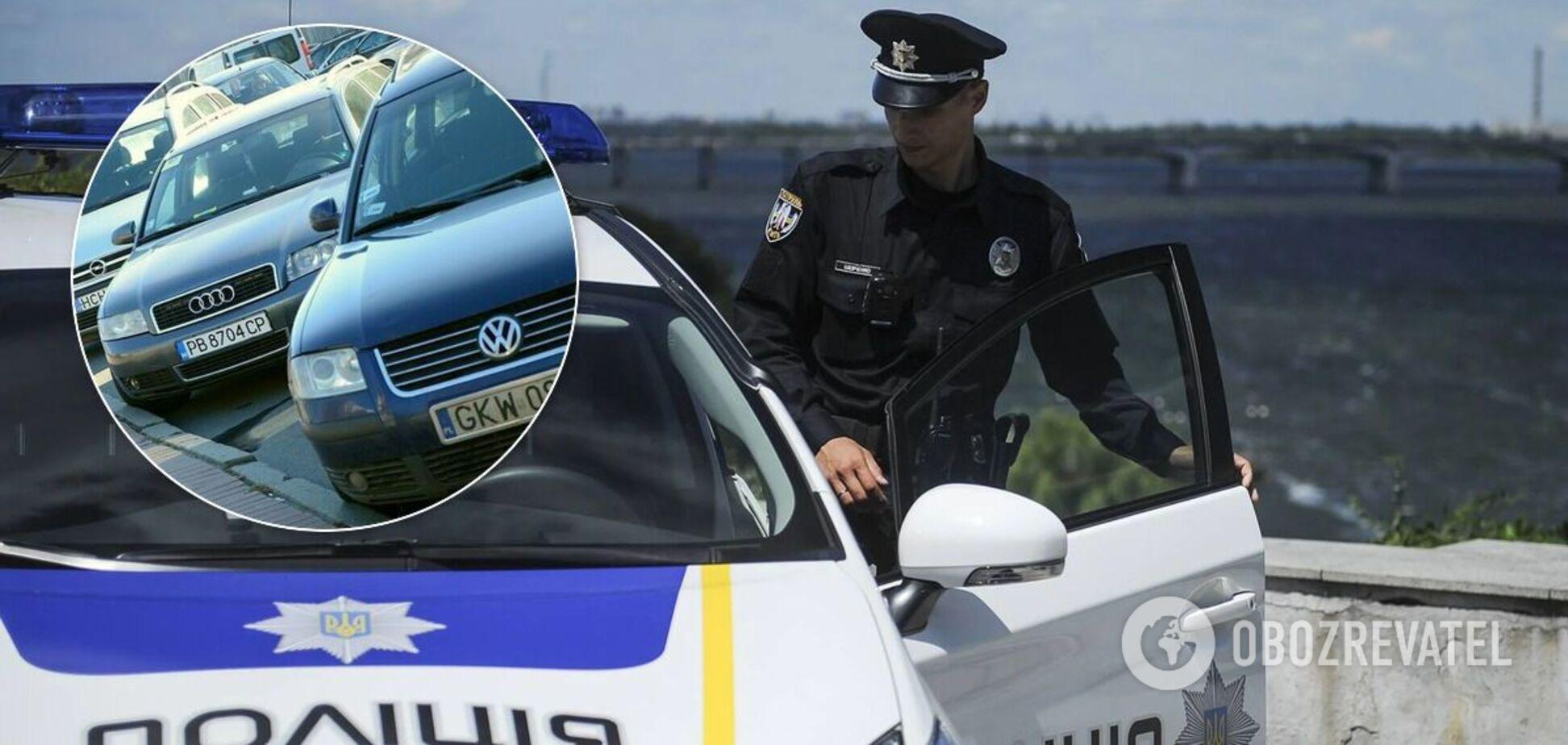 Полиция может конфисковать 'евробляху': юрист назвал условие