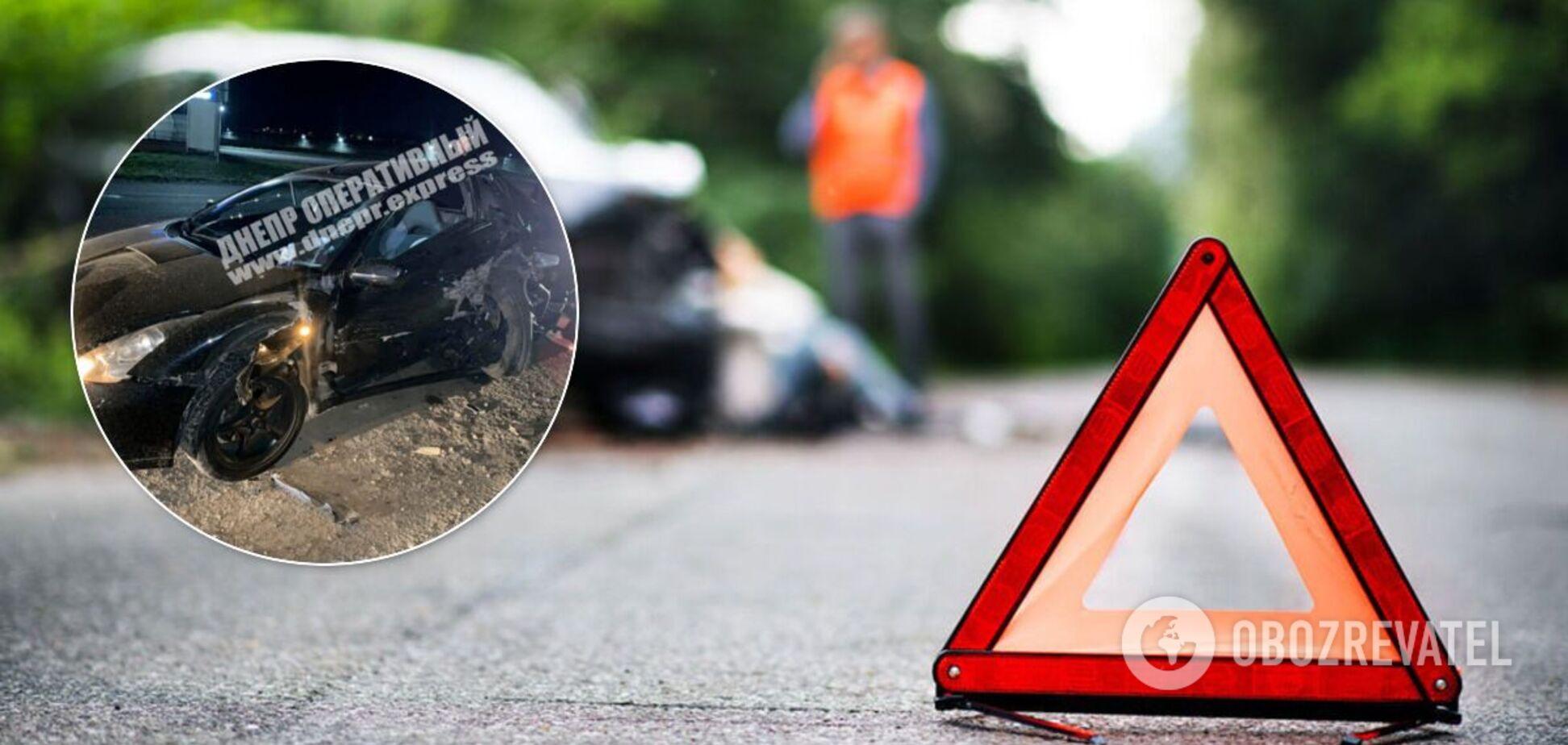 Потрійне ДТП в Дніпрі: постраждали водії та пасажир. Фото