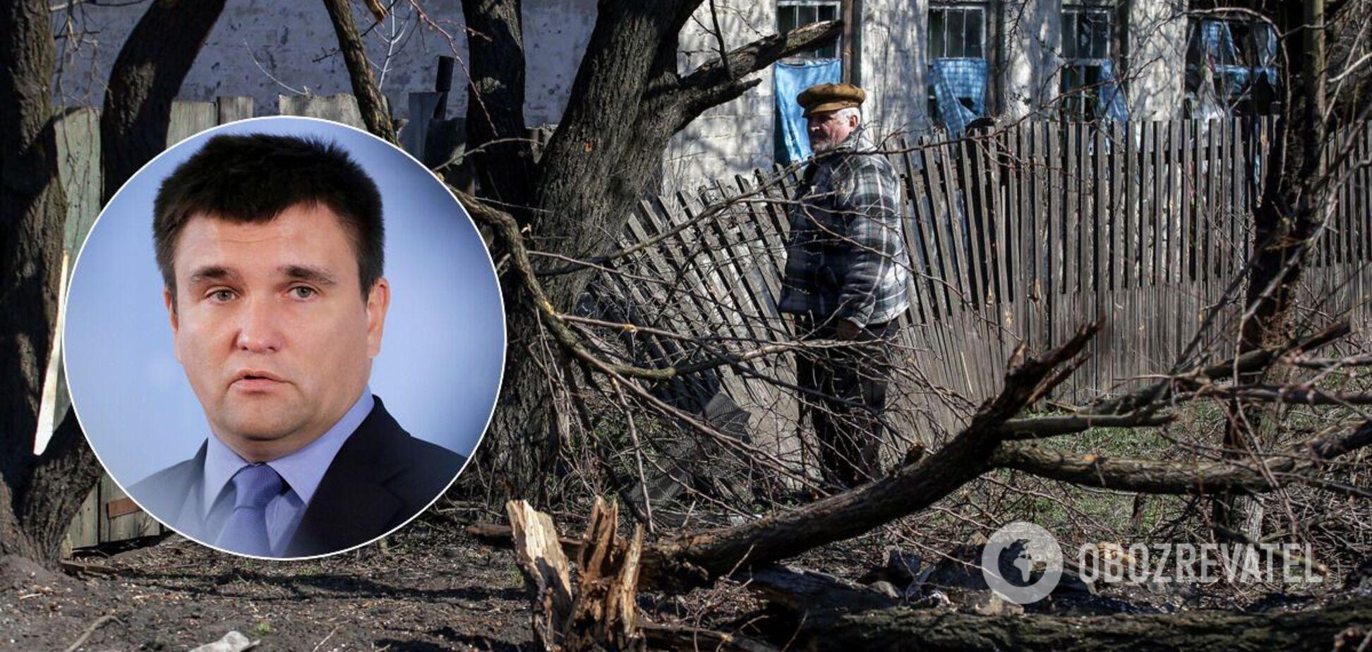 Климкин сказал, как вернуть под контроль границу на Донбассе